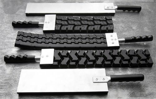 Badass Paddles Made of Tire Accessories Recycled Rubber