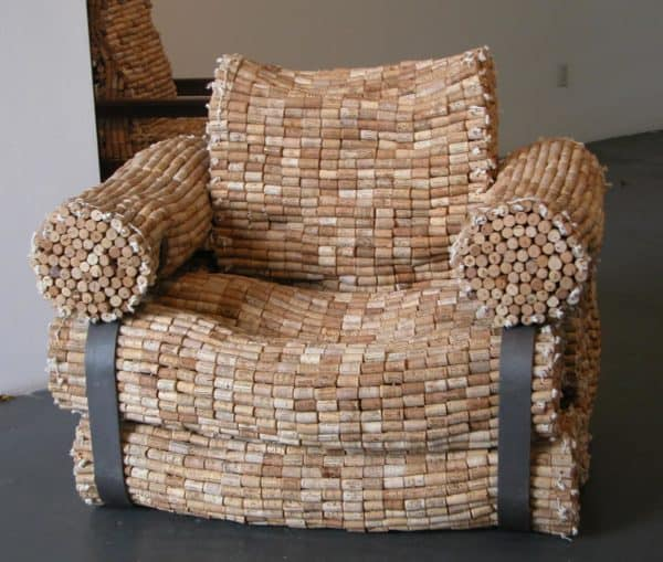 Cork Chair(S) Recycled Cork Recycled Furniture