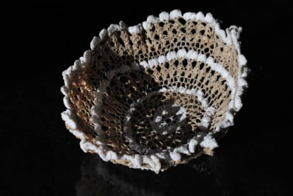 Crochet Doily Bowls Clothing