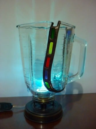 Pitcher Blender Lamp Lamps & Lights Recycled Glass