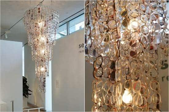 The Glasses Chandelier Lamps & Lights