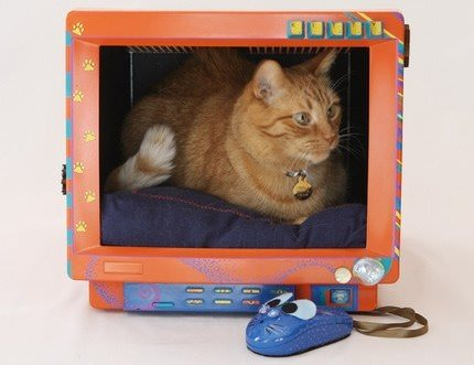 Kitty House Recycled Electronic Waste