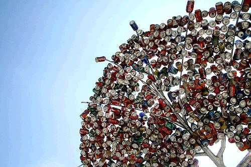 Recycled Tree Recycled Art