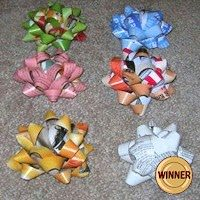 Recycled Magazine Bows Do-It-Yourself Ideas Recycling Paper & Books