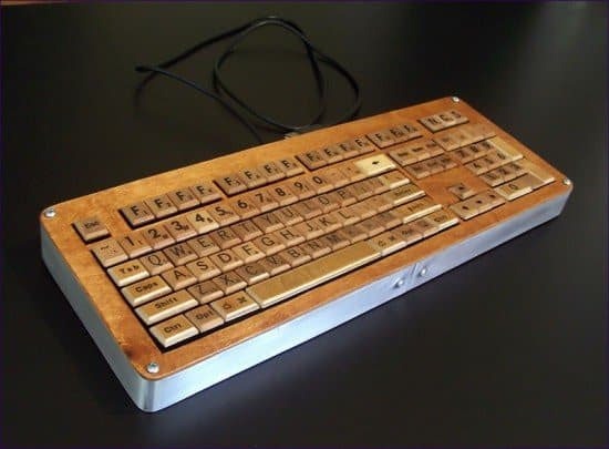 Scrabble keyboard (& others) in electronics  with scrabble keyboard Computer