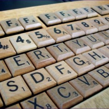 Scrabble keyboard (& others)