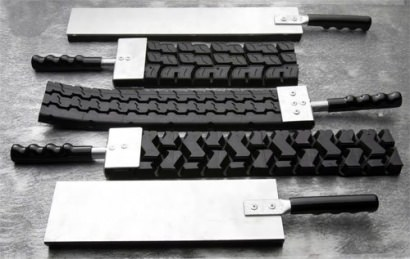 Badass paddles made of tire