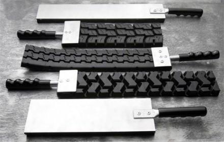 Badass paddles made of tire