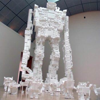 Styrofoam robots