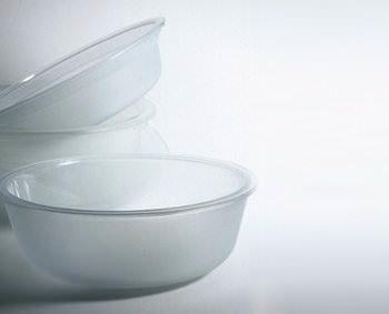 Bowls from washing-machine windows
