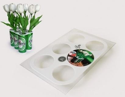 6pack vase