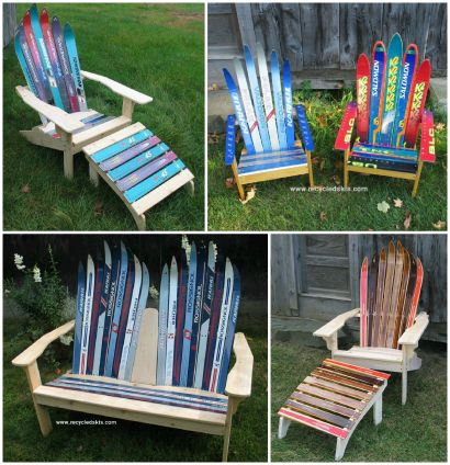 Ski Chair and Other Winter Furniture