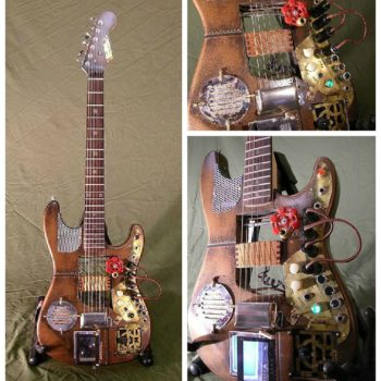 Custom Steampunk Guitar