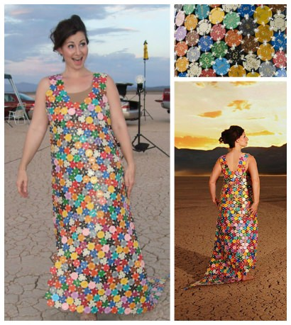Casino Chips Dress