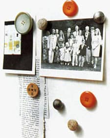 button magnets 6 ways to reuse buttons in diy accessories  with Button 