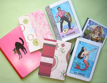 Notepad with playing card Accessories Do-It-Yourself Ideas