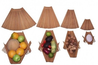 Recycled chopstick accessories