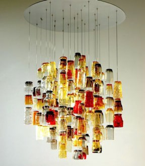 Dram chandelier
