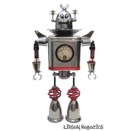 Lipson Robotics Recycled Art
