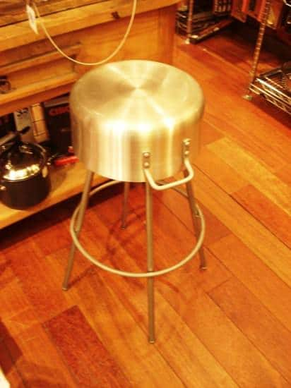 Pot Kitchen Stool Recycled Furniture