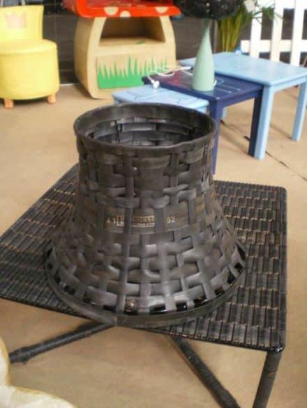 Inner tube lampshade