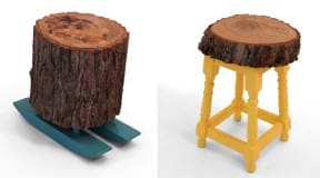 Lost &#038; found stools