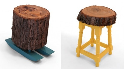 Lost & found stools
