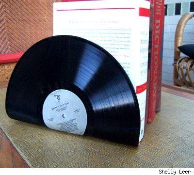DIY : LP bookends