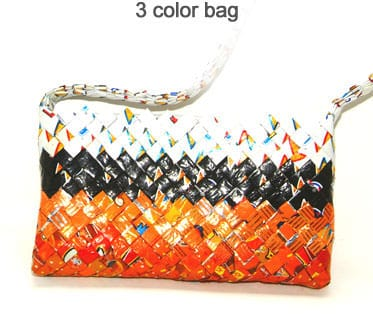 Chips Bags to Chic Bags Recycled Plastic