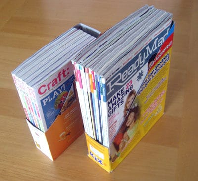 Diy Cereal Filing Boxes Do-It-Yourself Ideas Recycled Packaging
