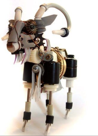 Electronic Goat Recycled Electronic Waste