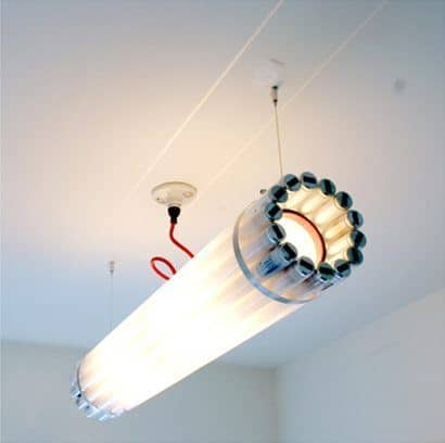 Recycled tube light