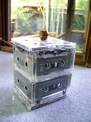 Daily Danny's Tape Box Accessories Recycled Electronic Waste