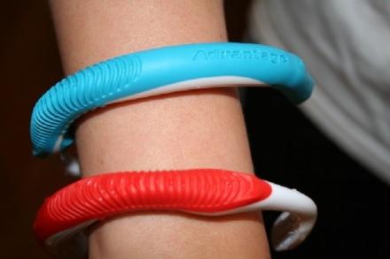 Toothbrush bracelet