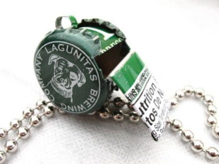 Re-used caps Whistle