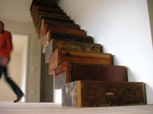 Recycled Stairs Home Improvement Wood & Organic