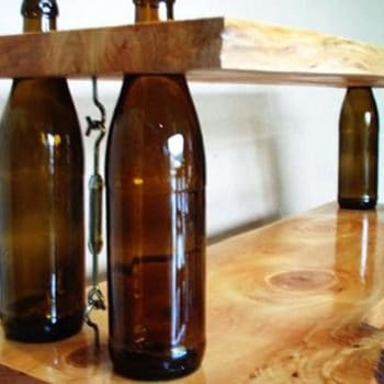 Wine Bottles Shelves