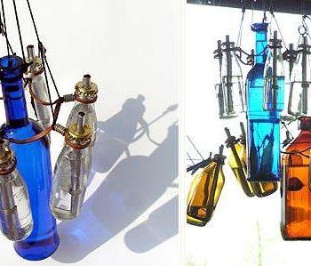 Bottles Chandelier