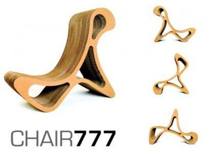 "Cardboard Chair ""777"""