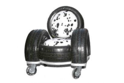 Tire sofa