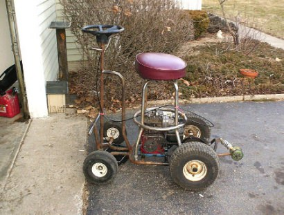Don't DIY : barstool kart