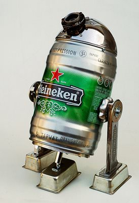 Beer2D2 Recycling Metal