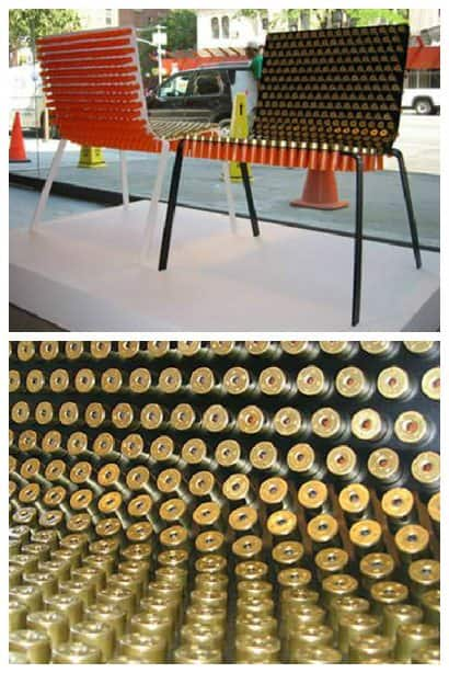 Shotgun Shells Chair