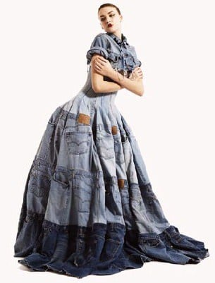 Denim Dress Clothing