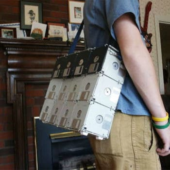 DIY : Floppy disk bag