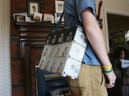 DIY : Floppy disk bag