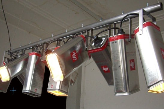 Illy Lamp Lamps & Lights Recycling Metal