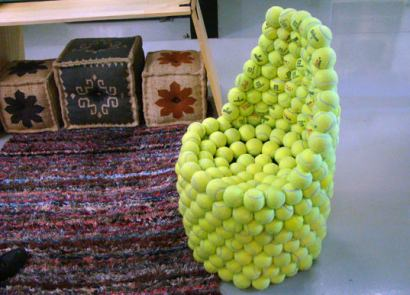 Tennis Ball Chair
