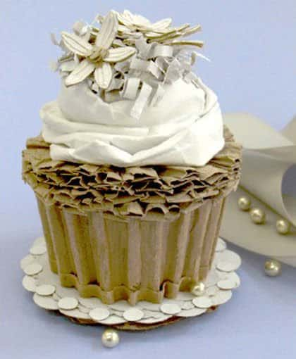 Cardboard Cakes ! Recycled Cardboard