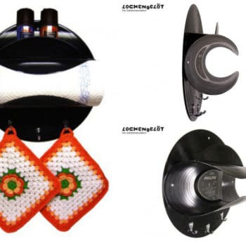 Rock & Roll Kitchen: Paper Towel Holder Made Of Vinyl Records